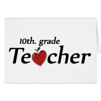 10mo. Profesor del grado Felicitación