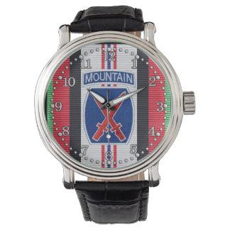 10mo reloj de la división de la montaña de