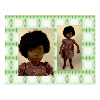 118 Cora Little Flower Dress tarjeta postal