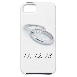 11,12.13 Ahorre la fecha iPhone 5 Case-Mate Protectores