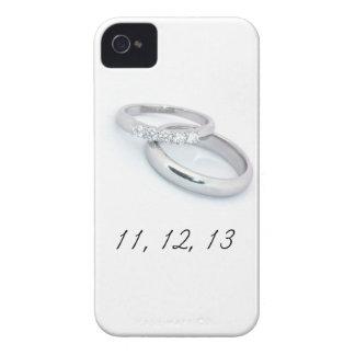 11,12.13 Ahorre la fecha iPhone 4 Case-Mate Protector