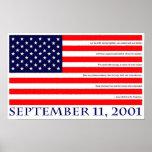 11 de septiembre de 2001 póster