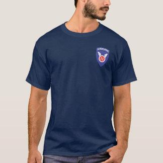 11mo Aerotransportado + 511o DUI/Para se va Camiseta