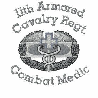 11mo Camisa médica de la insignia del combate del