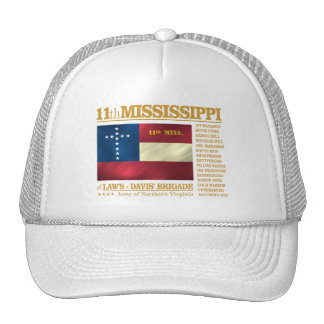 11mo Infantería de Mississippi (BA2) Gorras