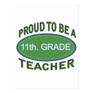 11mo orgulloso Profesor del grado Postal