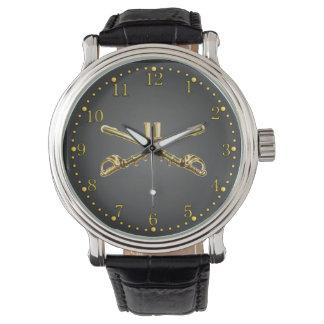 11mo Reloj cruzado latón de los sables del ACR