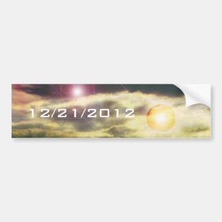 12/21/2012 PEGATINA PARA COCHE