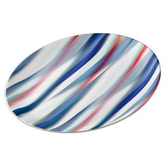12 ambiente, diseñador original contemporáneo plato de porcelana