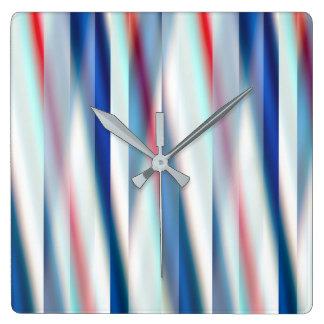 12 ambiente, diseñador original contemporáneo reloj cuadrado