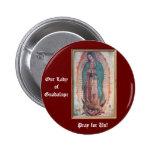 12 de diciembre   nuestra señora de Guadalupe Chapa Redonda 5 Cm