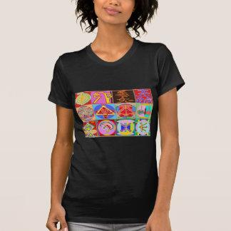 12 diseños de la cura de Reiki n Karuna Reiki Camiseta
