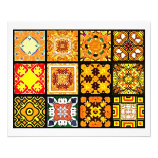12 diversas tejas de la bolsita de té - plegamient folleto 11,4 x 14,2 cm