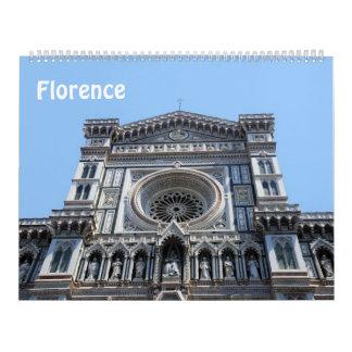 12 meses calendario de la foto de Florencia,