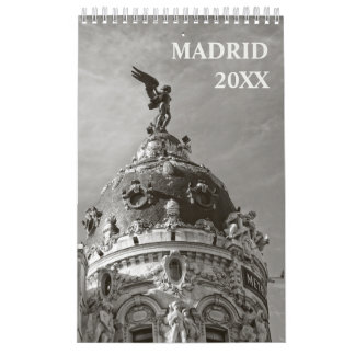 12 meses de calendario de Madrid