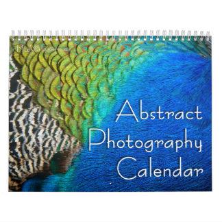 12 meses de fotografía abstracta, 6ta edición calendario de pared