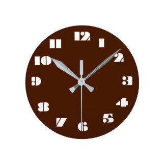 12 opciones del número a elegir del reloj de Brown
