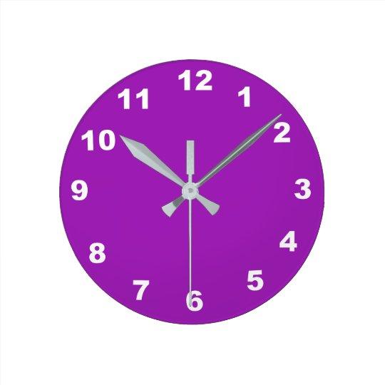 12 opciones del número a elegir del reloj de la