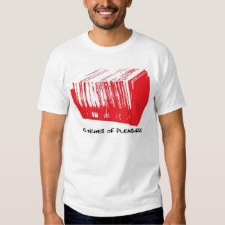 12 pulgadas de placer camiseta