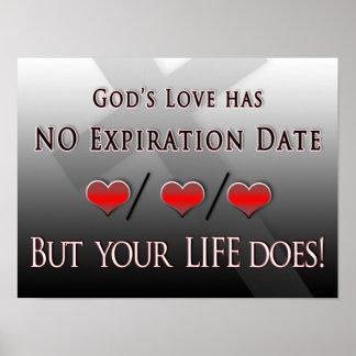 12 x 16 POSTER - el amor de dios - ninguna fecha