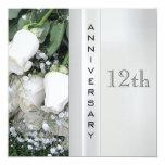 12mo Invitación del aniversario