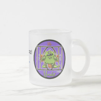 12x12-littlemonster-circle taza de cristal