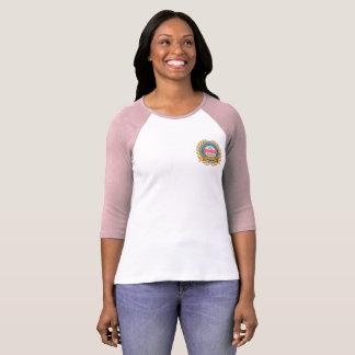 135o Camisa de la Cuarto-Manga de las mujeres del