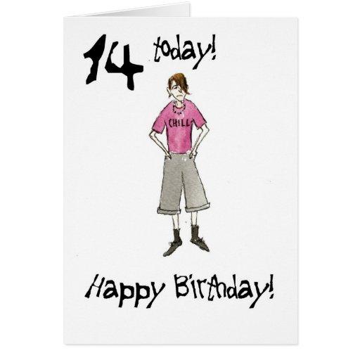 Tarjeta de cumpleaño con mensajes para un adolescente varon - Imagui