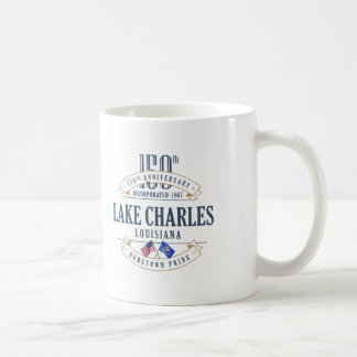 150a taza del aniversario de Lake Charles,