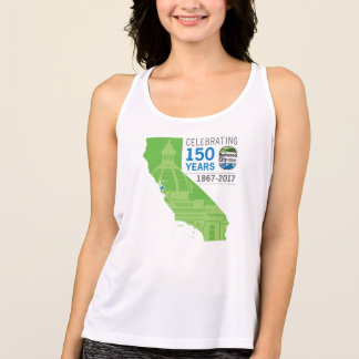 150o aniversario de Redwood City Camiseta De Tirantes