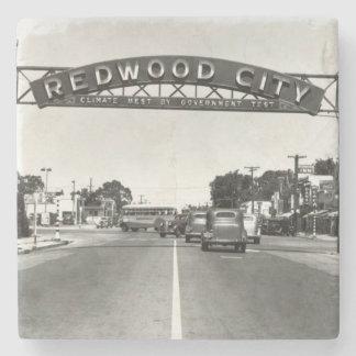 150o aniversario de Redwood City Posavasos De Piedra