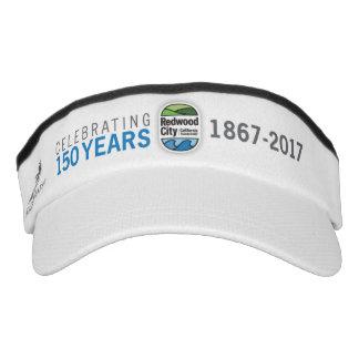 150o aniversario de Redwood City Visera