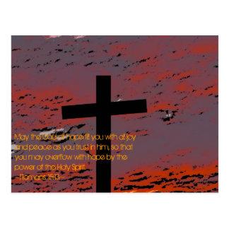 15:13 de los romanos postales