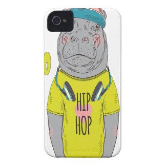 15 de febrero - día del hipopótamo - día del carcasa para iPhone 4 de Case-Mate