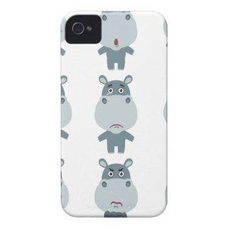 15 de febrero - día del hipopótamo - día del funda para iPhone 4 de Case-Mate