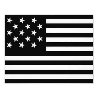 15 protagonicenos bandera invitación 10,8 x 13,9 cm
