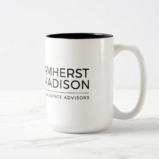 15 taza del tono de la onza Amherst Madison dos