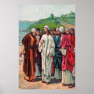 16:13 de Matthew - 14 quién hacen a hombres dicen Póster