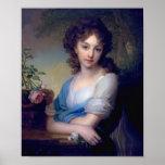 1799 - Retrato de Elena Alexandrovna Naryshkina Impresiones
