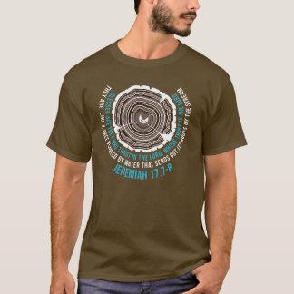 17:7 de Jeremiah - 8 anillos de árbol Camiseta