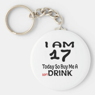 17 hoy tan cómpreme una bebida llavero