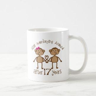 17mo Regalos del aniversario de boda Taza De Café