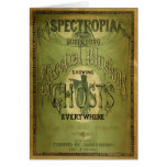 1800s Spectropia - un estudio de fantasmas Tarjetas