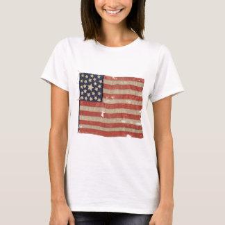 1850-1865 bandera rara de los E.E.U.U. de la Camiseta