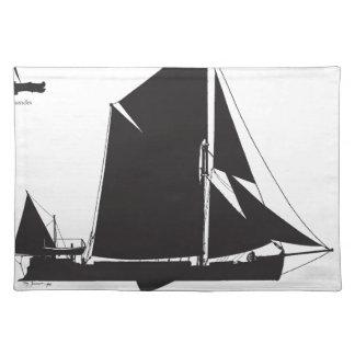 1889 gabarra del spritsail - fernandes tony salvamanteles