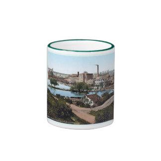 1890's de la taza de la fábrica del &co de