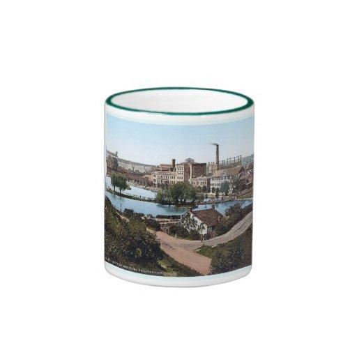 1890's de la taza de la fábrica del &co de Inglate