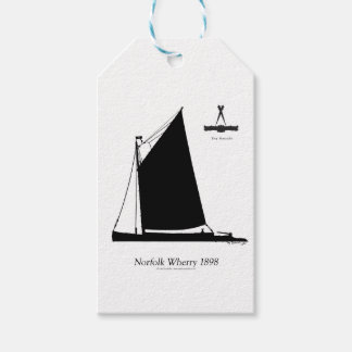 1898 esquife de Norfolk - fernandes tony Etiquetas Para Regalos