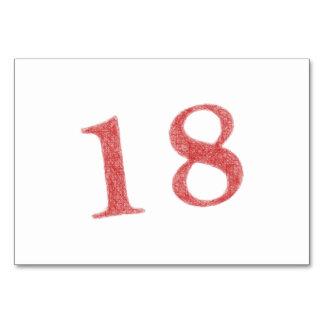 18 años de aniversario