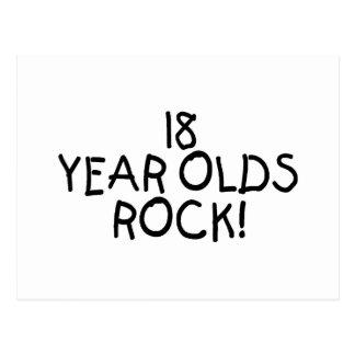 18 años de la roca postal